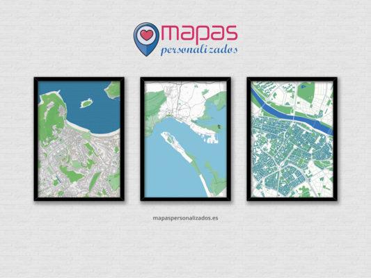 inauguramos tienda online de mapas personalizados