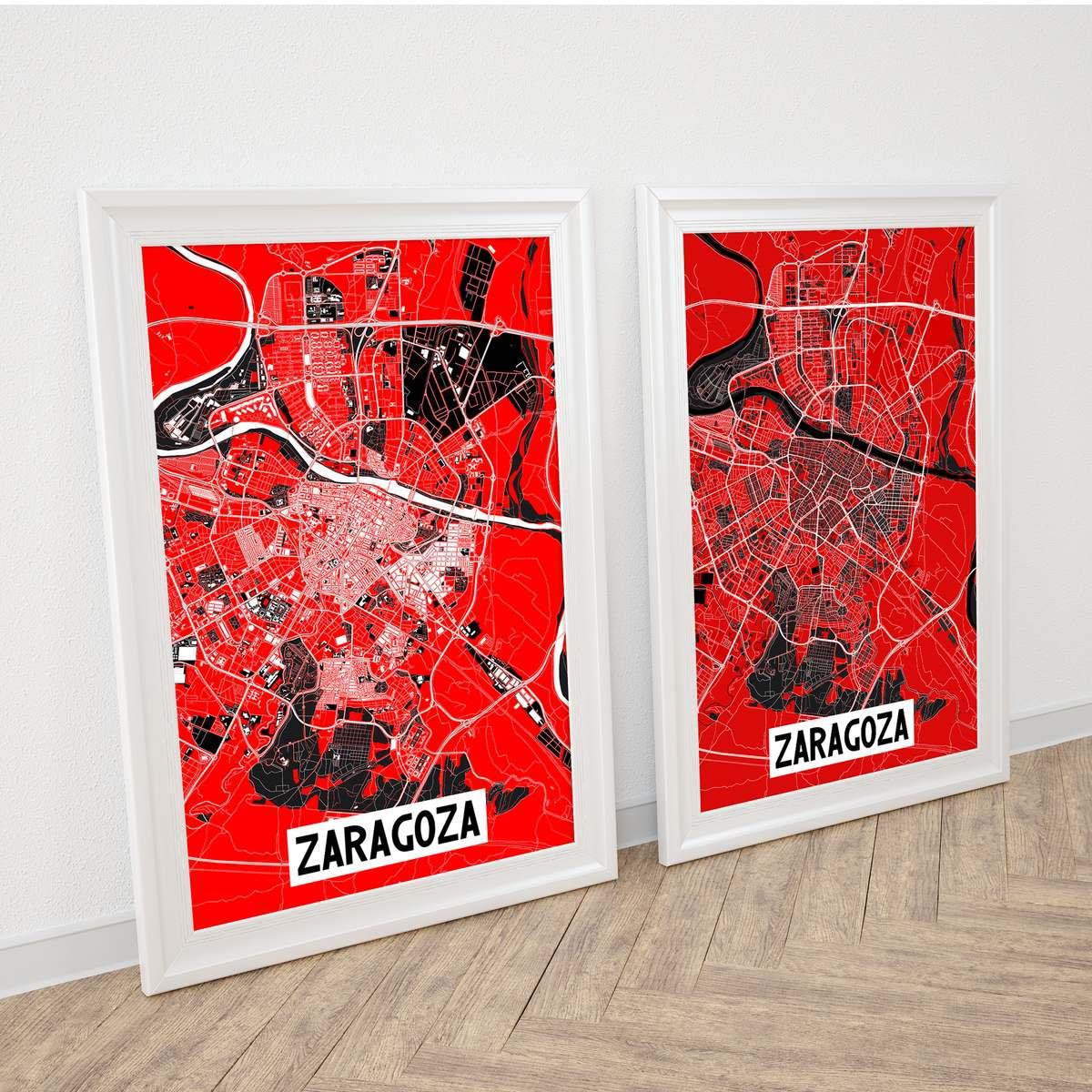 Zaragoza: Fiestas del Pilar 2018. Poster edición limitada.