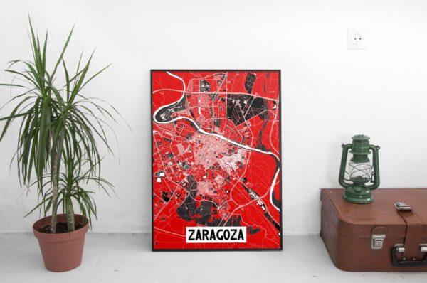 Poster Zaragoza Ebro