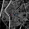 Mapa decorativo de Sevilla
