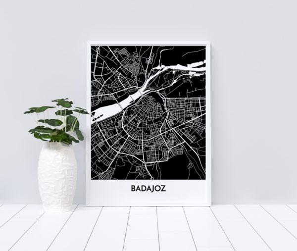 Mapa de Badajoz Personalizado